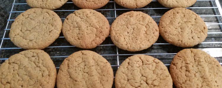 Peanut Butter Biscuits (Gluten Free)