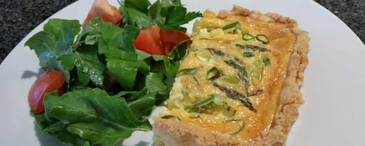 Asparagus and Tarragon Tart