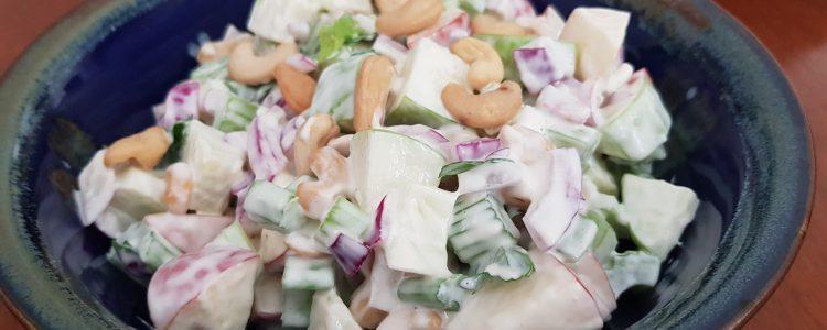 Apple and Cashew Salad